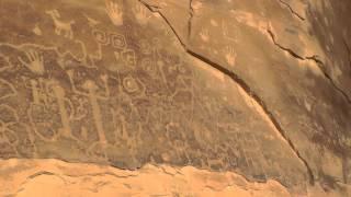 Petroglyph Panel-Mesa Verde National Park
