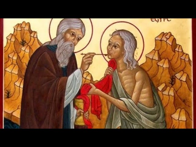 Divine Liturgy 5th Sunday of the Great Fast - St. Mary of Egypt - March 29, 2020 - Online ONLY