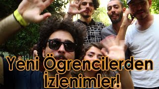İstanbul Üniversitesi - İlk Gün ve İzlenimler