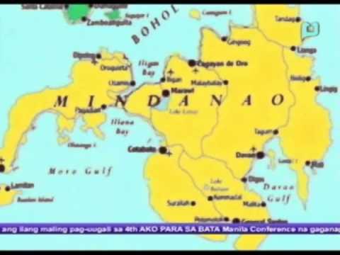 Mindanao Dev't Authority, nakatakda nang ilabas ang bagong mapa ng Mindanao