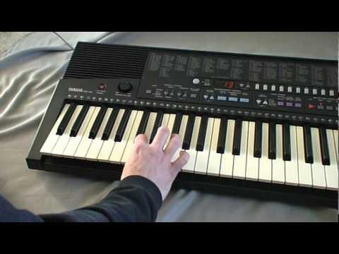 Yamaha PSR-310 Keyboard - YouTube