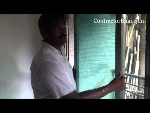 """Jindal Aluminium Sliding Window"" by ContractorBhai.com"