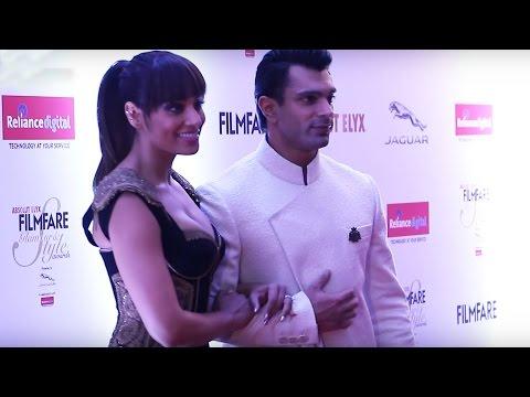 Bipasha Basu & Karan Singh Grover At Filmfare Glamour & Style Awards 2016