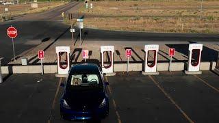 First Tesla Road Trip in Tesla Model 3 SR+
