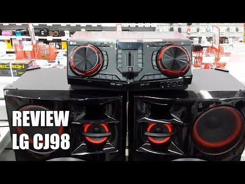 Review LG CJ98 Nuevo Altavoz para Fiestas Bluetooth 3500W 2017