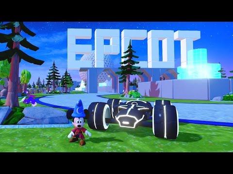 Disney Infinity - Around The World - Epcot Toybox