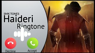 Haideri Ringtone,Janam Fida e Haideri Ringtone,Ramzan New Ringtone,Islamic Ringtone,Smk Tones