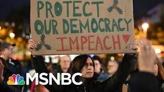 Thousands Brave Cold And Rain To Protest In Favor Of Trump's Impeachment | The 11th Hour | MSNBC