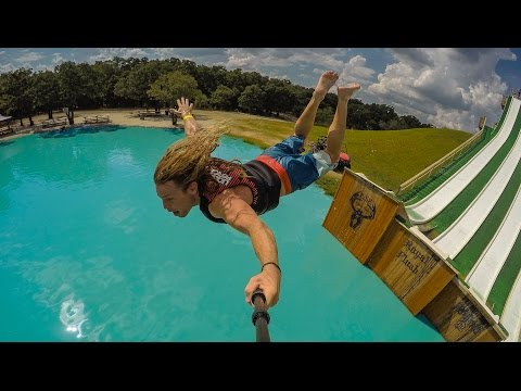 EPIC WATER SLIDE : BSR Royal Flush - Waco, Texas