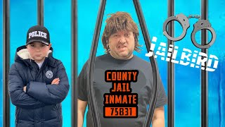 Brothers Work Together to Stop the Jail Bird fun kids video