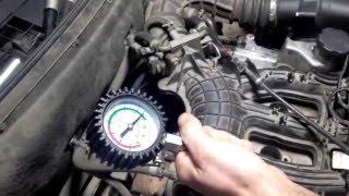 Замер компрессии 16ти клапанный двигатель
