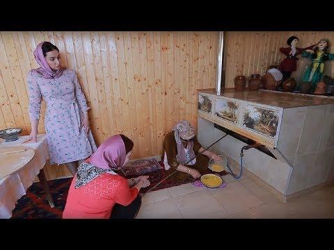 ГОДЕКАН Готовит Теркеменский ГАККАМА или Яичный ПИРОГ Село Берикей РГВК ДАГЕСТАН