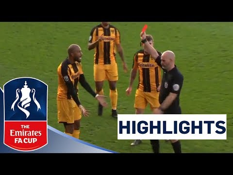 Six Goals, Two Red Cards and a Cupset! | Cheltenham 2-4 Maidstone | Highlights | The Emirates FA Cup
