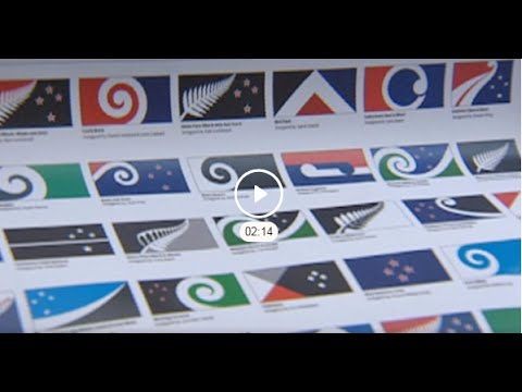Kiwi flags to be voted for in the first referendum