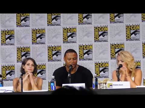 Arrow panel @ SDCC 2017 (Stephen Amell, David Ramsey, Katie Cassidy)