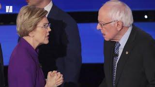 Late Night Hosts Joke About Warren-Sanders Feud