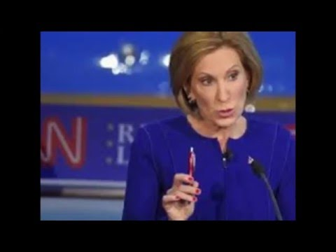 Carly Fiorina Suspends Campaign for President