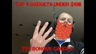 Top 4 gadgets for under $10! TEN DOLLARS!