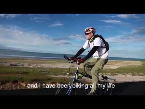 DAHON Folding Bikes at Qinghai Lake, China