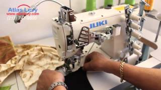Juki MF-7823 coverstitch sewing machine  High-speed, Cylinder-bed