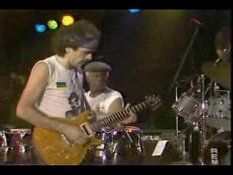 Santana & Shorter ~Europa  at  Montrenx 1988