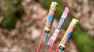 Mini Knallraketen aus Frankreich - Demon Raketen