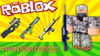 MY FAVORITE GUNS!! | Roblox Phantom Forces Funny Moments