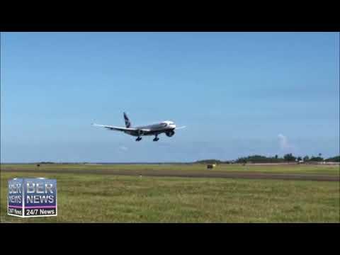 British Airways Flight Arrives In Bermuda, July 17 2020