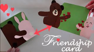 Friendship card - Easy DIY