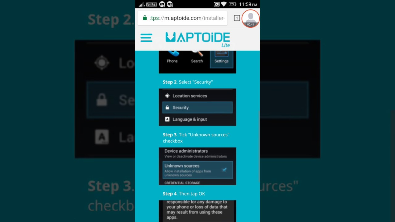 How to Download Aptoide lite app or APK for android, iOS, PC, Windows