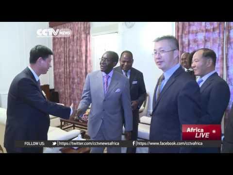 China, Zimbabwe discuss special economic zones in Harare