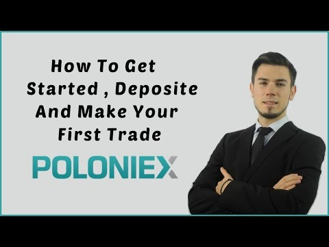 Poloniex Trading Tutorial - How To Get Started And Make Your First Trade