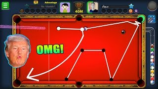 IS THIS THE LUCKIEST 8 BALL POOL MATCH IN HISTORY? (its hard to believe this miss)