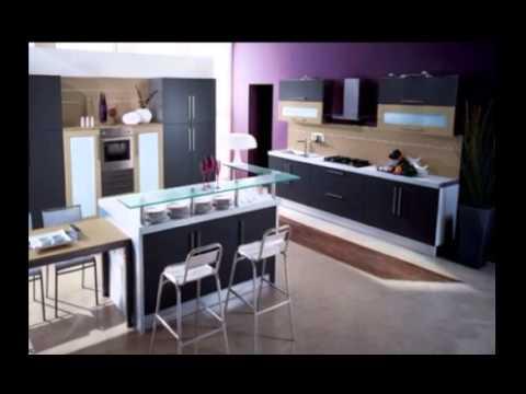 Фиолетовые Кухни Kitchens