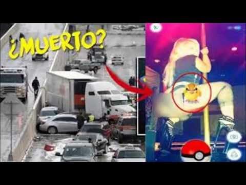 Pokemon  Go TOP SEIS ACCIDENTES JUGANDO Pokemon Go
