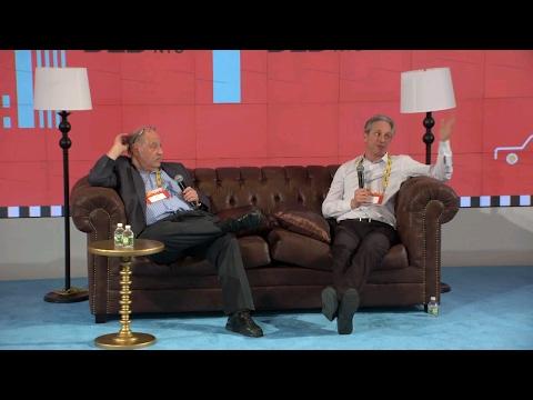 Chairman's Talk (Yossi Vardi, Chairman DLD & Elliot Noss, CEO Tucows) | DLD New York