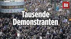 Nach dem grausamen Tod von George Floyd demonstrieren Menschen auch in Deutschland