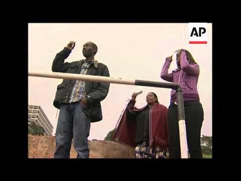 Solar eclipse as seen in Uganda and Kenya