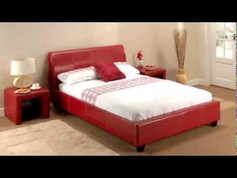 lpd paris in red bed frame
