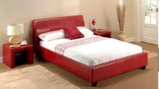 Lpd - Paris In Red Bed Frame