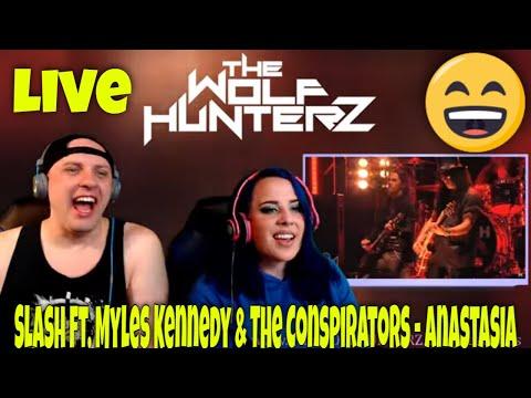 Slash ft. Myles Kennedy & The Conspirators – Anastasia (Live in Sydney) THE WOLF HUNTERZ Reactions