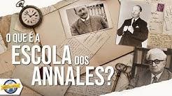O que é a Escola dos Annales?