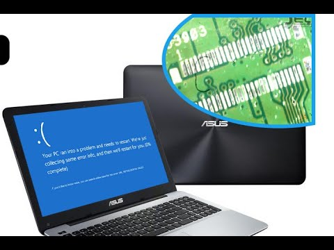 ASUS X555LD No Sound - Blue Screen No Disc Hardware Repair Tutorial SOLUTION K555L/R556L/F555L/