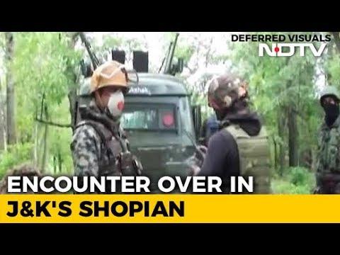 In South Kashmir's Shopian, 5 Terrorists Killed In Encounter