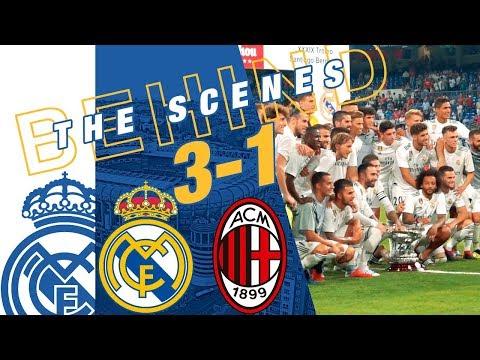 Real Madrid vs AC Milan 3-1   BEHIND THE SCENES thumbnail