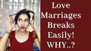 Why Divorce Is So Much Common In Love Marriages ? [Love Marriage v/s Arrange Marriage] Mayuri Pandey