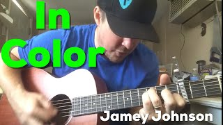 In Color | Jamey Johnson | Beginner Guitar Lesson