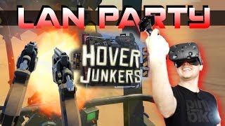 First VR VIVE Multiplayer FPS! - HOVER JUNKERS