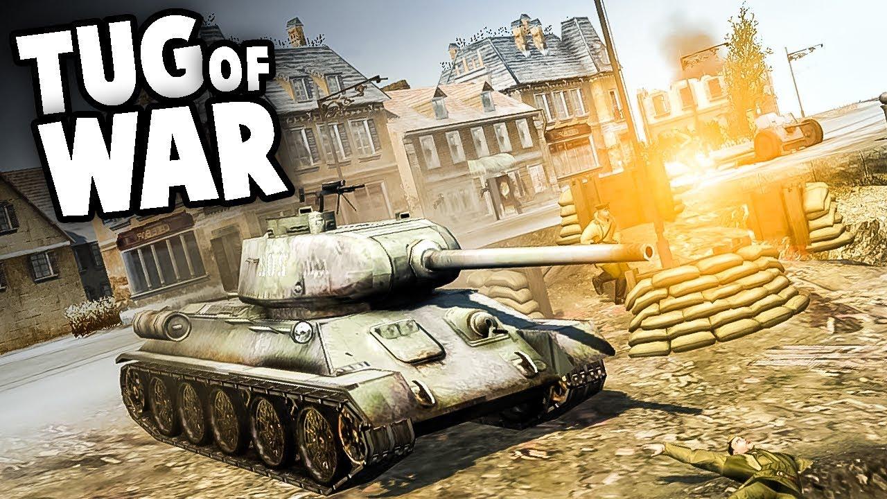 INTENSE TUG OF WAR (Men Of War AS2 Mods - Custom Map)