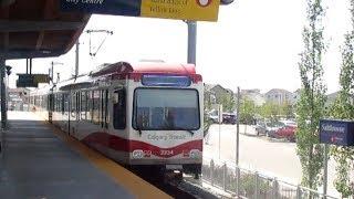 Calgary Transit CTrain Blue Line (Centre Street - Saddletowne)